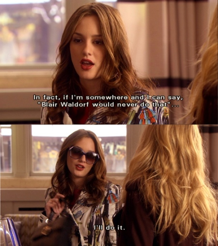 Blair Waldorf - Gossip Girl